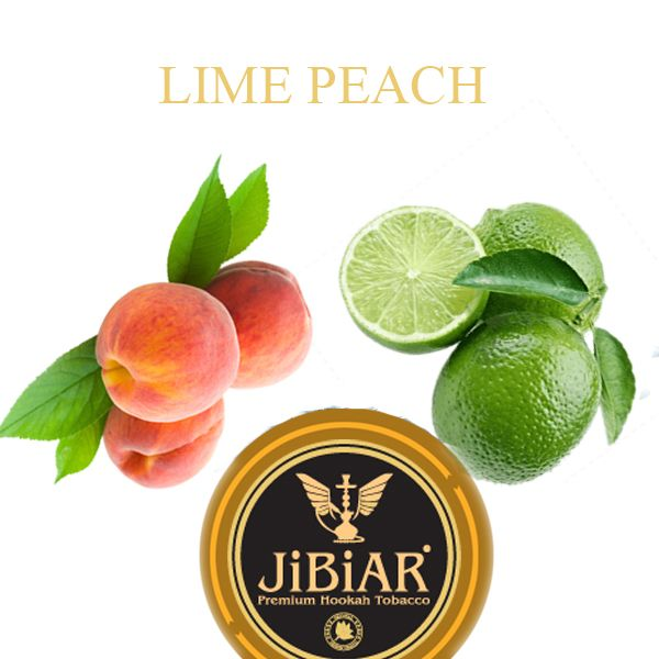 Табак Jibiar Lime Peach (Лайм Персик)